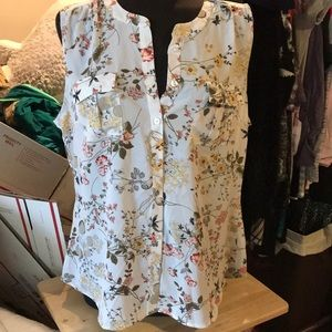 NWT NY&C Button Down Blouse